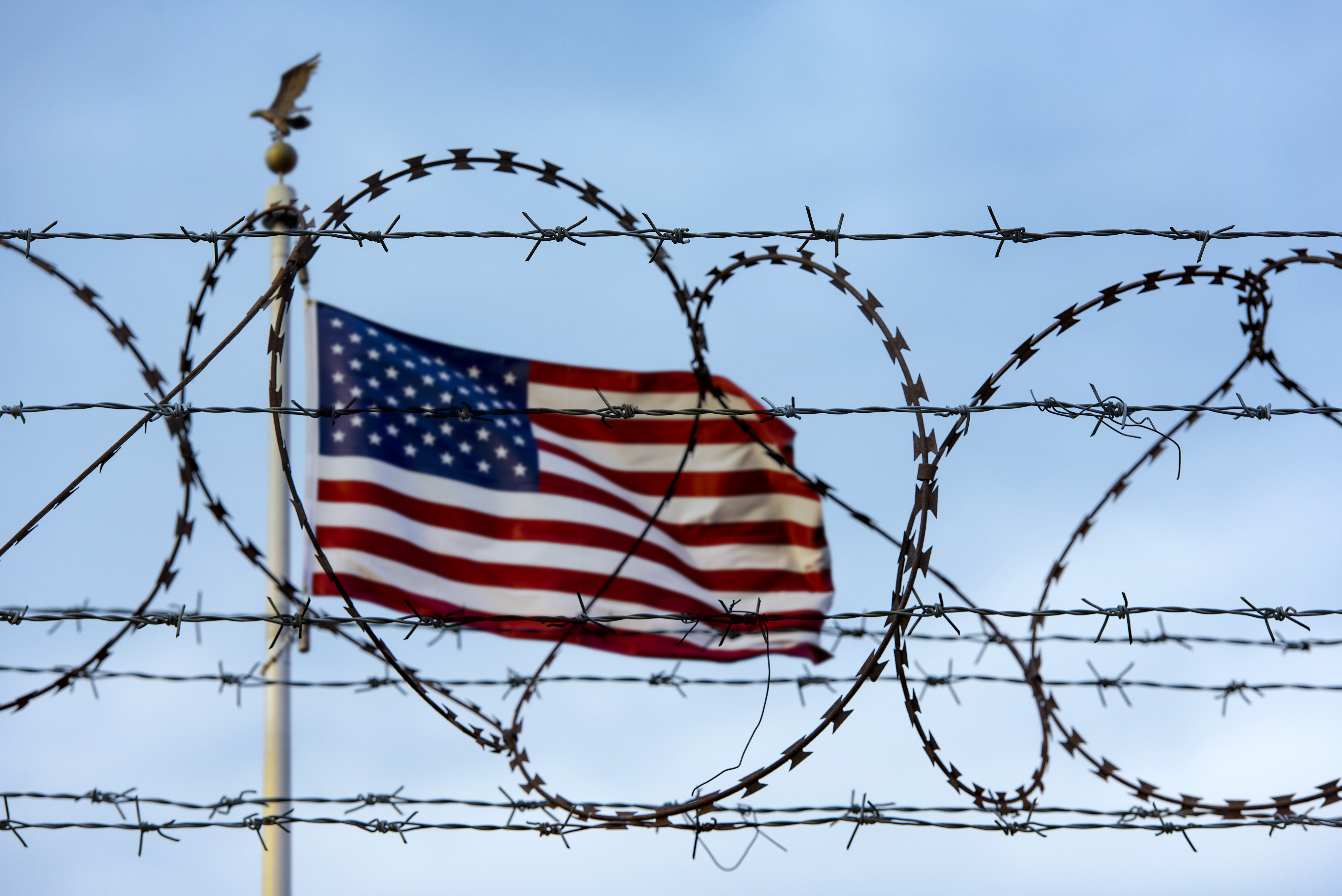DACA behind barbed wire