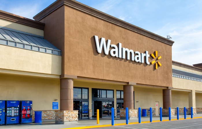 A photo of a Walmart store Walmart will pay for employees' college