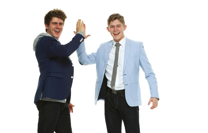 "two college frat ""bros"" high fiving tech recruiters dissuading female engineers"