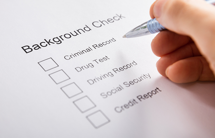rolling background checks