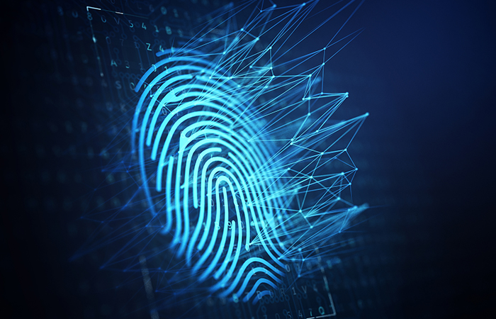 collecting fingerprints